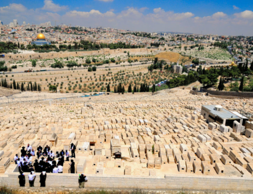 As French cemeteries fill up, Jews seek burial plots in the Holy Land